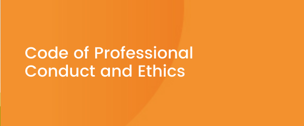 Code of Professional Conduct and Ethics